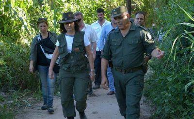 Refuerzan la lucha contra el delito en las fronteras con apoyo de las FF.AA.