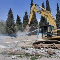 La despedida de un �cono: se inici� la demolici�n del Estadio Abierto