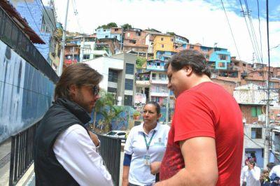 """Iriart en Colombia: """"un lugar donde la paz le ganó a la violencia"""""""