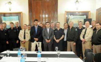 Coordinan arribo de fuerzas federales a los municipios del Sur del Conurbano bonaerense