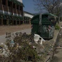 Los reclamos por la basura en el barrio San Jorge son cr�nicos