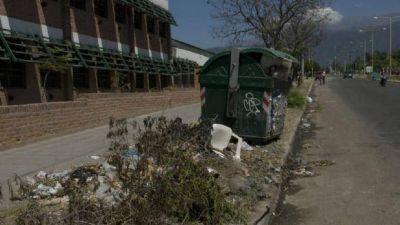Los reclamos por la basura en el barrio San Jorge son crónicos