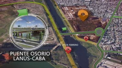 Un nuevo puente conectará Capital y la Zona Sur del GBA