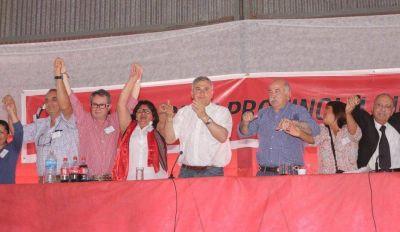 Fuerte apoyo a la gesti�n del gobernador Morales