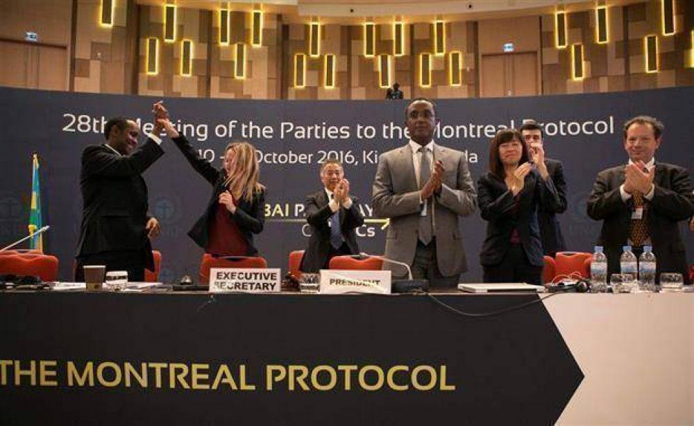 Firman un acuerdo histórico contra el cambio climático