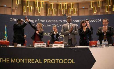 Firman un acuerdo hist�rico contra el cambio clim�tico