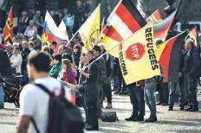 Los xenófobos de Pegida coparon Dresde