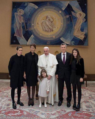 """¿Qué quiso decirle Francisco a Macri con """"fuerza y adelante""""?"""