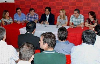 Garavano se reunió con diputados y dirigentes de Cambiemos