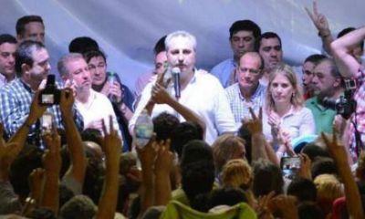 """El Frente Renovador """"celebró"""" el Día de la Lealtad en el Club Mitre"""