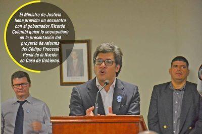 El ministro Garavano vuelve a Corrientes para firmar convenios