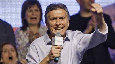 En el Día de la Lealtad, la militancia macrista también expresó su apoyo a Mauricio Macri
