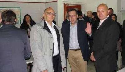 El ministro de Educación y Reino inauguraron laboratorios en la Técnica