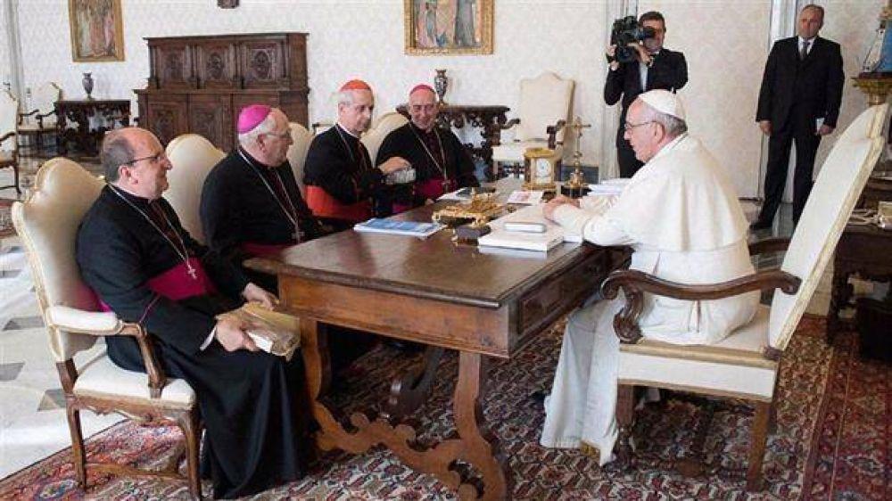 Luego de ver al Papa, Arancedo habló de una relación
