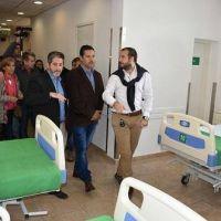 Men�ndez inaugur� el primer Servicio de Hemodinamia en Merlo