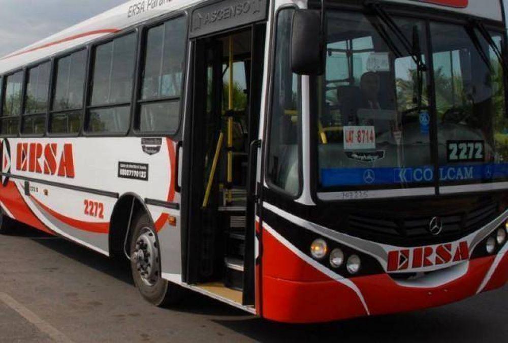 Subsidios: Las empresas de transporte de pasajeros de Paraná recibieron en septiembre 2,5 millones de pesos más que en agosto