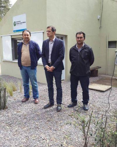 El intendente Bucca inaugur� la nueva sede de la Direcci�n de Paisajes y Paseos P�blicos