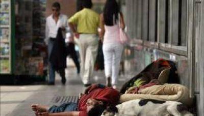 Hay 106 mil nuevos pobres en la Ciudad