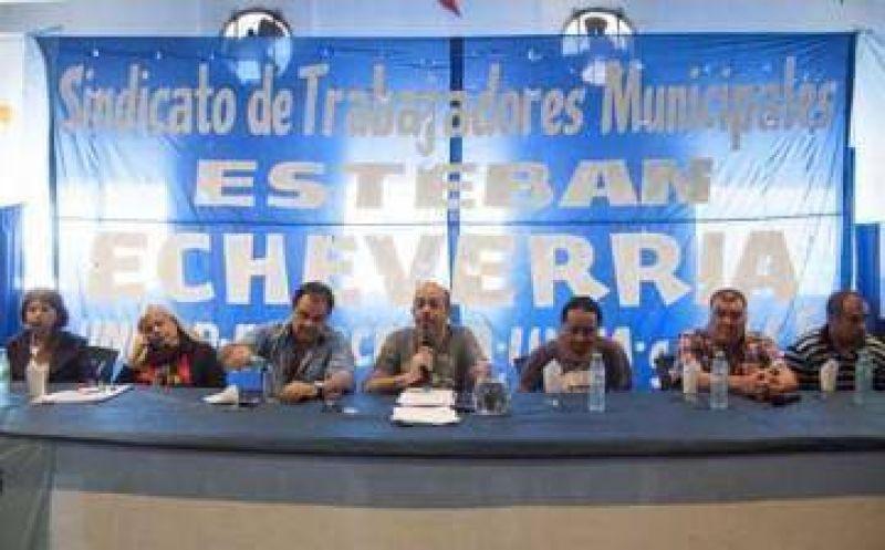 Gouín asumió un nuevo mandato al frente del gremio de municipales