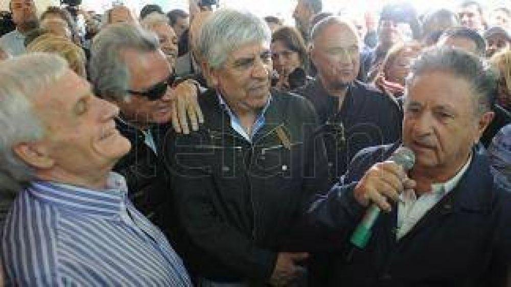 Con la presencia de Duhalde y Moyano, la CGT recordó en San Vicente el 17 de octubre