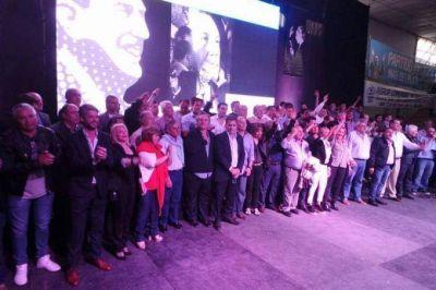Sin Vidal, la pata peronista de Cambiemos celebr� el D�a de la Lealtad