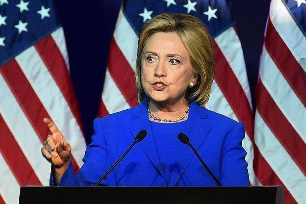 Hillary ya paladea el triunfo y mira al Congreso