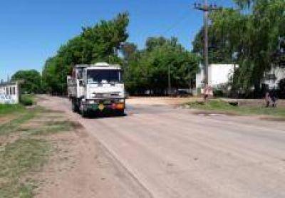 Ruta 191: No comenzaron las obras y el tr�nsito es normal