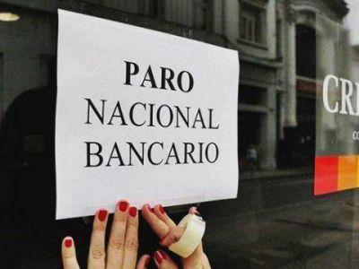 Los bancarios paran al mediod�a en todo el pa�s