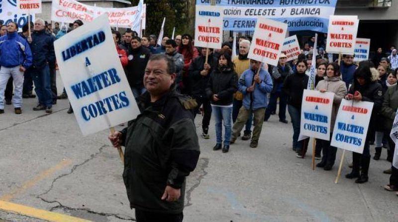 Marcha gremial por la liberación de Cortés, Goye y Zúñiga