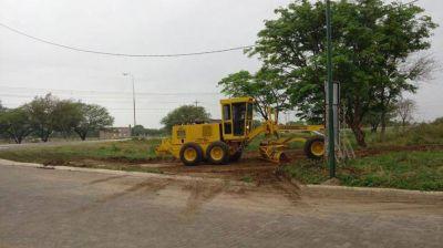 Limpian desag�es en San Pedro trabaja por los pr�nisticos de lluvias