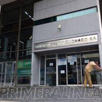 Bancarios de Resistencia se suman al paro nacional de hoy y ma�ana