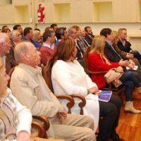 Detallan obras por 120 millones de pesos para Santa Rosa