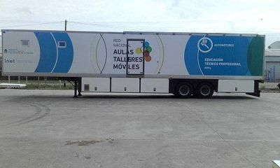 Empresa marplatense fabrica aulas móviles para todo el país