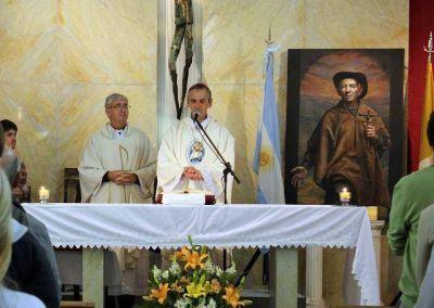 El santo Cura Brochero ya es venerado en Buenos Aires