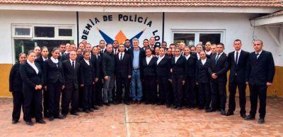 Barrera, con el ministro Ritondo en Pinamar
