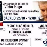 V�ctor Hugo Morales llega a Mar del Plata para presentar su libro �Mentir a Diario�