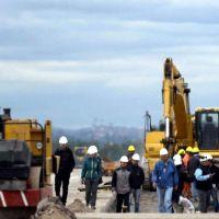 Obras del aeropuerto avanzadas en un 40%