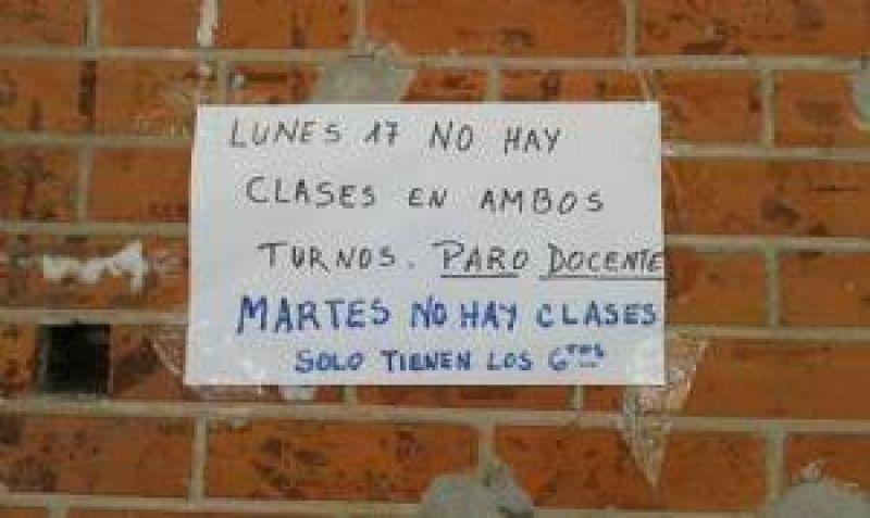 El acatamiento al paro de UDOCBA llegó al 60 por ciento en Chivilcoy