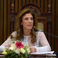 Intensa agenda de la Dra. Claudia de Zamora durante la jornada de ma�ana en H�bitat III
