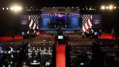 Hillary y Trump, cara a cara mañana en el tercer debate