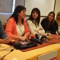 Donda reforz� en Neuqu�n la convocatoria al paro de mujeres