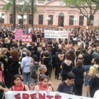 Mi�rcoles negro contra la violencia y los femicidios