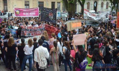 Las correntinas se sumaron a la marcha nacional en contra de la violencia de género