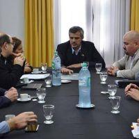 Concejales se reunieron con el presidente del ente portuario