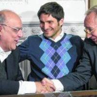 Los presidentes de Newell's y Central se reunieron con Pullaro