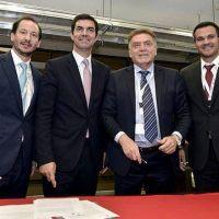 Obras p�blicas para Aguas Blancas: el gobernador Urtubey firm� un acta acuerdo con Naci�n