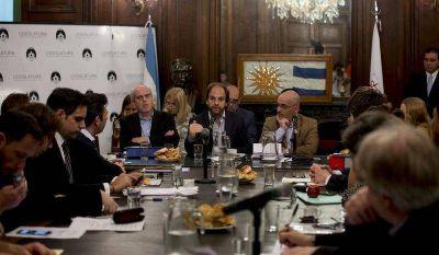 Pagani detalló el trabajo 2017 de la Magistratura porteña