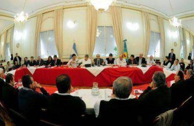 Presupuesto de la provincia de Buenos Aires: foro de intendentes radicales en el Senado