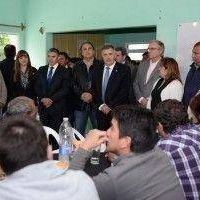Jaldo supervis� obras en Quilmes y coordin� el servicio de salud