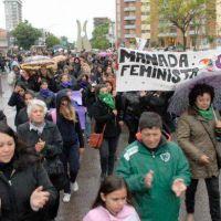 Cientos de mujeres juninenses marcharon contra los femicidios y la violencia de g�nero
